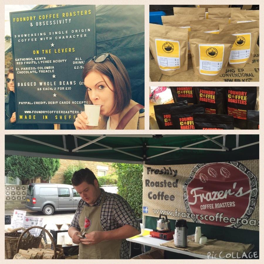 Coffee a go-go - Frazer's , Foundry & Twin Cafe