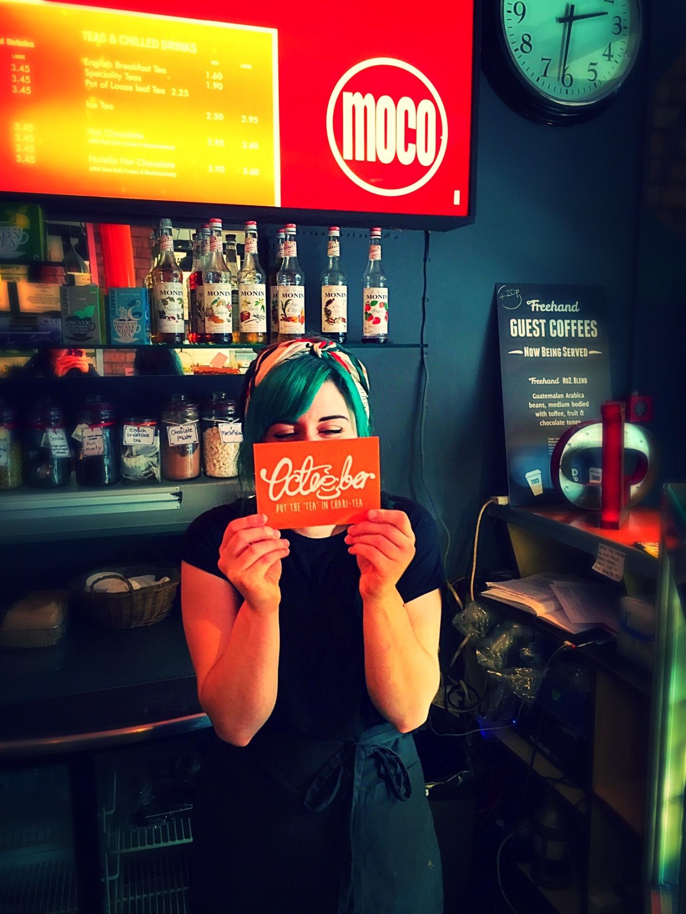 12. Cheeky Charlie at Cafe Moco