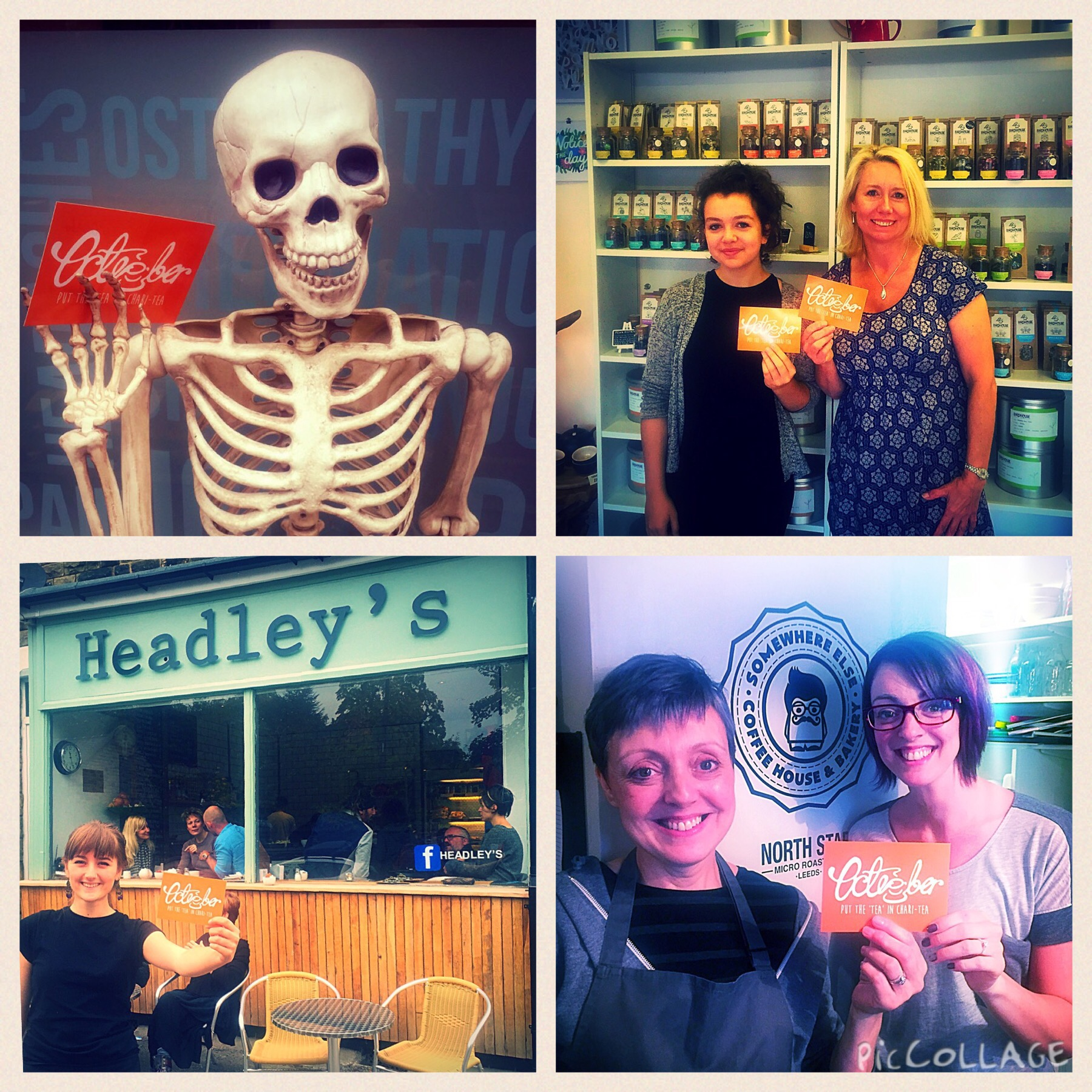 9. Char-lie from Nether Edge 9. Maisie and Julie from Birdhouse 10. Sabella from Headley's 11. Lovelies at Somewhere Else Coffee House