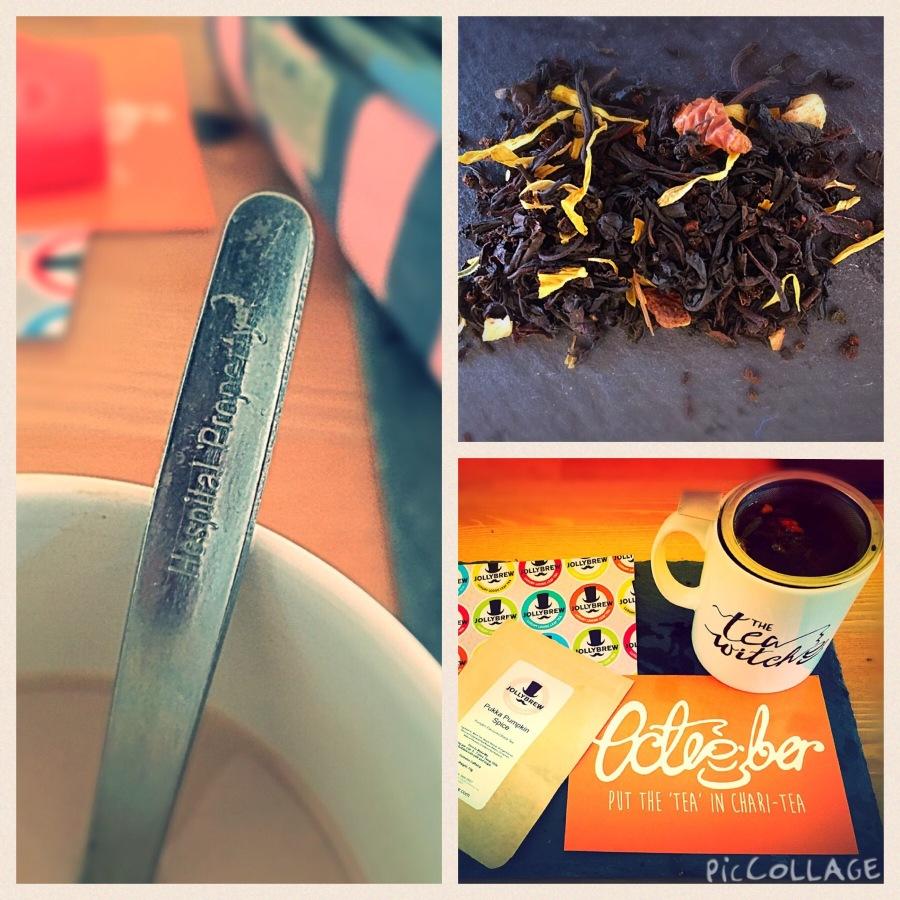 Teaspoon Tea Leaf